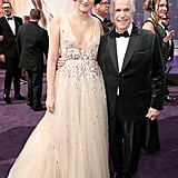 Phoebe Waller-Bridge and Henry Winkler at the 2019 Emmys