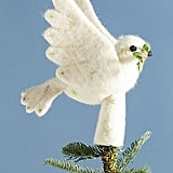 Felted Dove Tree Topper