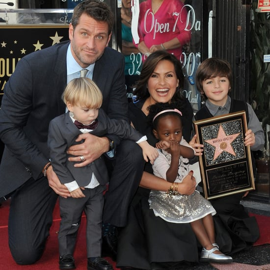 Peter Hermann and Mariska Hargitay Family Pictures