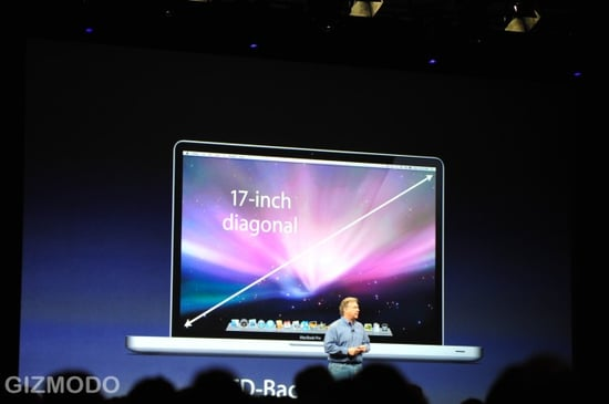 Macworld 2009: The 17-Inch MacBook Pro Is Unveiled
