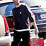 Chris Martin went grocery shopping in LA on Friday.