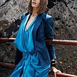 Abbey Lee feels blue for Hugo Boss Spring '11.