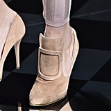 Kendall's shoe style also hit the runway at the show.