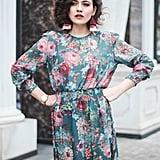 Shein Shirred Waist Dress