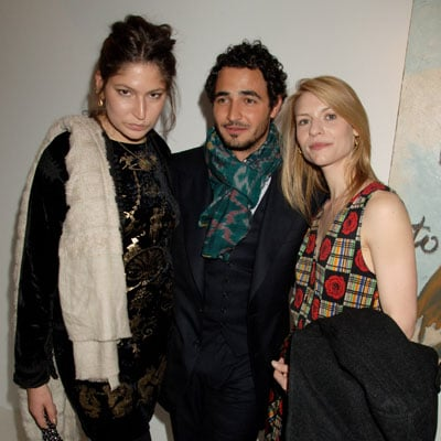 Stella Schnabel, Zac Posen Claire Danes Out in London