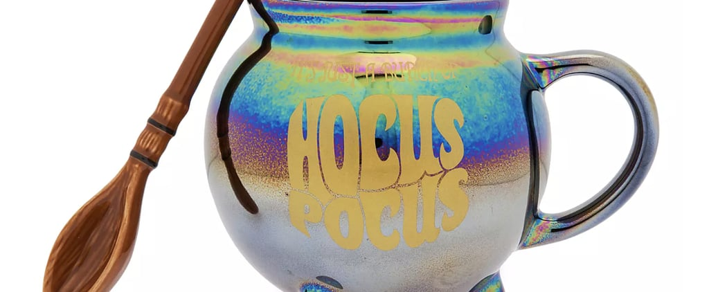 Disney Is Selling a Hocus Pocus Mug and Broomstick Spoon Set