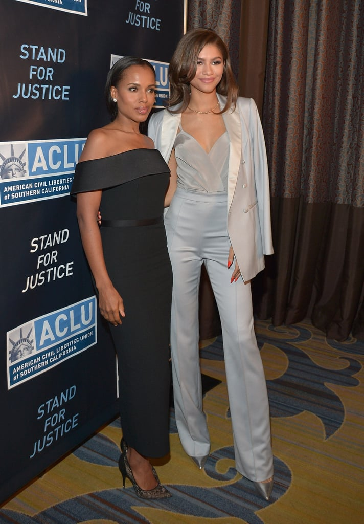 Kerry Washington and Zendaya Are the Perfect BFFs on the Red Carpet