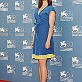 Rachel Korine was in attendance at the Spring Breakers photocall at the Venice Film Festival.