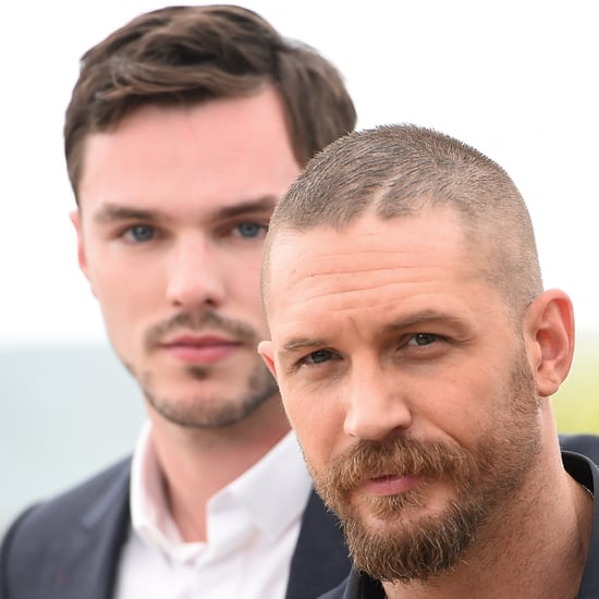 The Best Photos of Tom Hardy and Nicholas Hoult in Cannes
