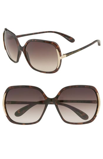 Marc By Marc Jacobs Metal Tipped Oversized Sunglasses ($98)