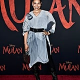 Jordin Sparks at the World Premiere of Mulan in LA