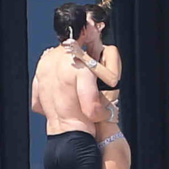 Mark Wahlberg PDA With His Wife