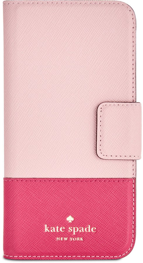 Kate Spade Leather Wrap iPhone 7 Folio Case ($70)