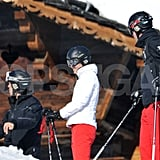 Prince William and Kate Middleton joined her family in France on a ski vacation.