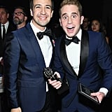 When He Posed With Lin-Manuel Miranda