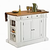 Americana White & Distressed Oak Kitchen Island by Home Styles