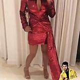 Nick's Post of Priyanka's Birthday Outfit