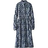 Uniqlo Denim Printed Dress