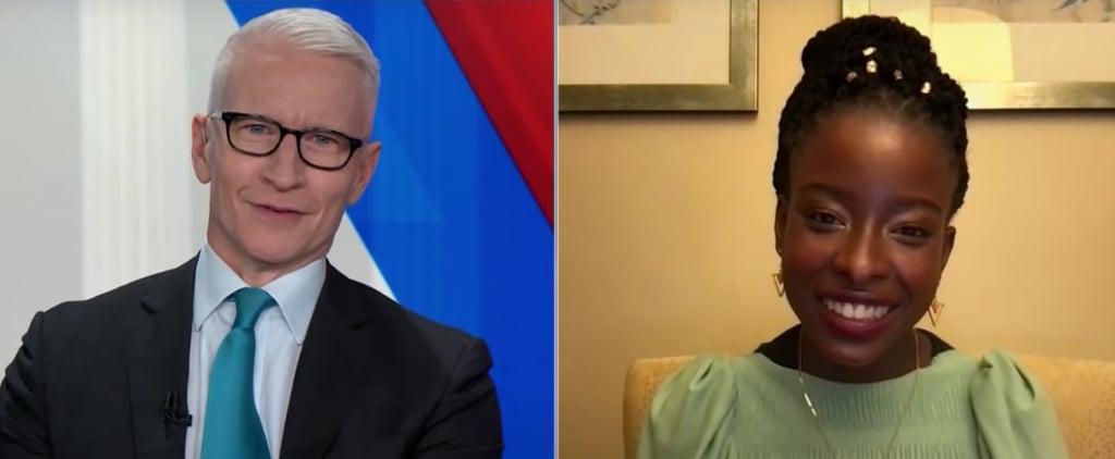 Anderson Cooper, Amanda Gorman Discuss Inauguration Poem