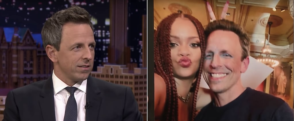 Seth Meyers Says Rihanna Doesn't Know How to Take Photos