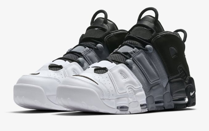 Nike Air More Uptempo Tri-Color Sneakers