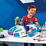 Disney Pixar Toy Story Buzz Lightyear Star Command Spaceship Playset