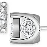 TruMiracle® Diamond Stud Earrings in 14k White Gold ($5,000)