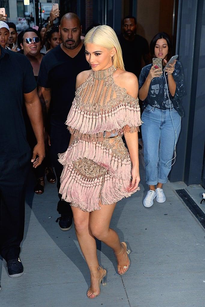 Kylie Jenner Dressing Like Kim Kardashian at Fashion Week