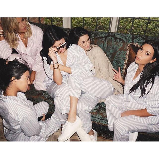 Kim Kardashians Baby Shower October 2015 Pictures Popsugar