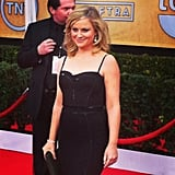 Amy Poehler looked stunning at the SAG Awards.