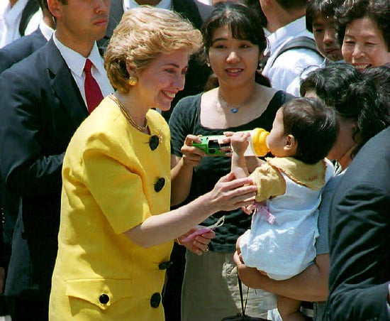 First Stop For Secretary of State Hillary Clinton: Japan!
