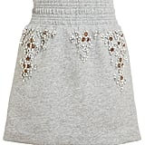 "Phillip Lim has answered the question ""what do I wear on Christmas day"" with this embellished skirt (£495) which combines a bit of sparkle with a stretchy waistband!"