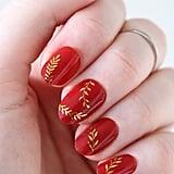 Gold Leaf Decals