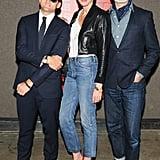 Casey Neistat, Jenna Lyons, and Frank Muytjens