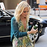 Nicole Richie Springs Into Fashion With Her Flirty Florals