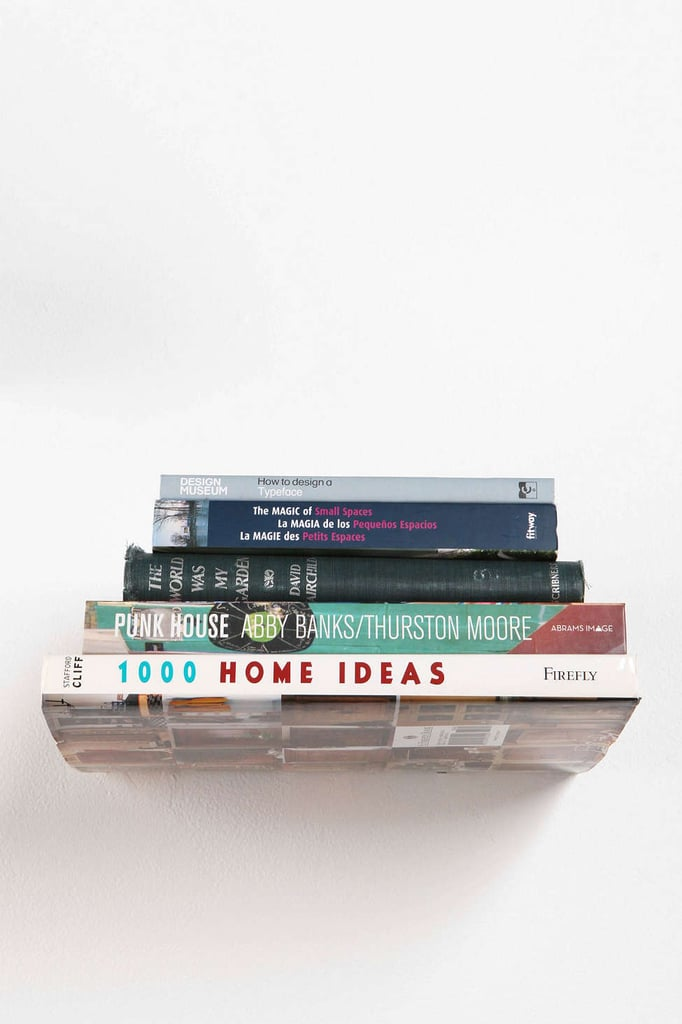 Invisible Book Shelf ($16)