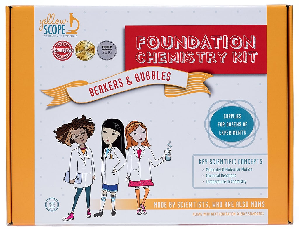 For 8-Year-Olds: Yellow Scope Foundation Chemistry Kit