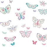 WallPops Flutterby Butterflies Wall Decals