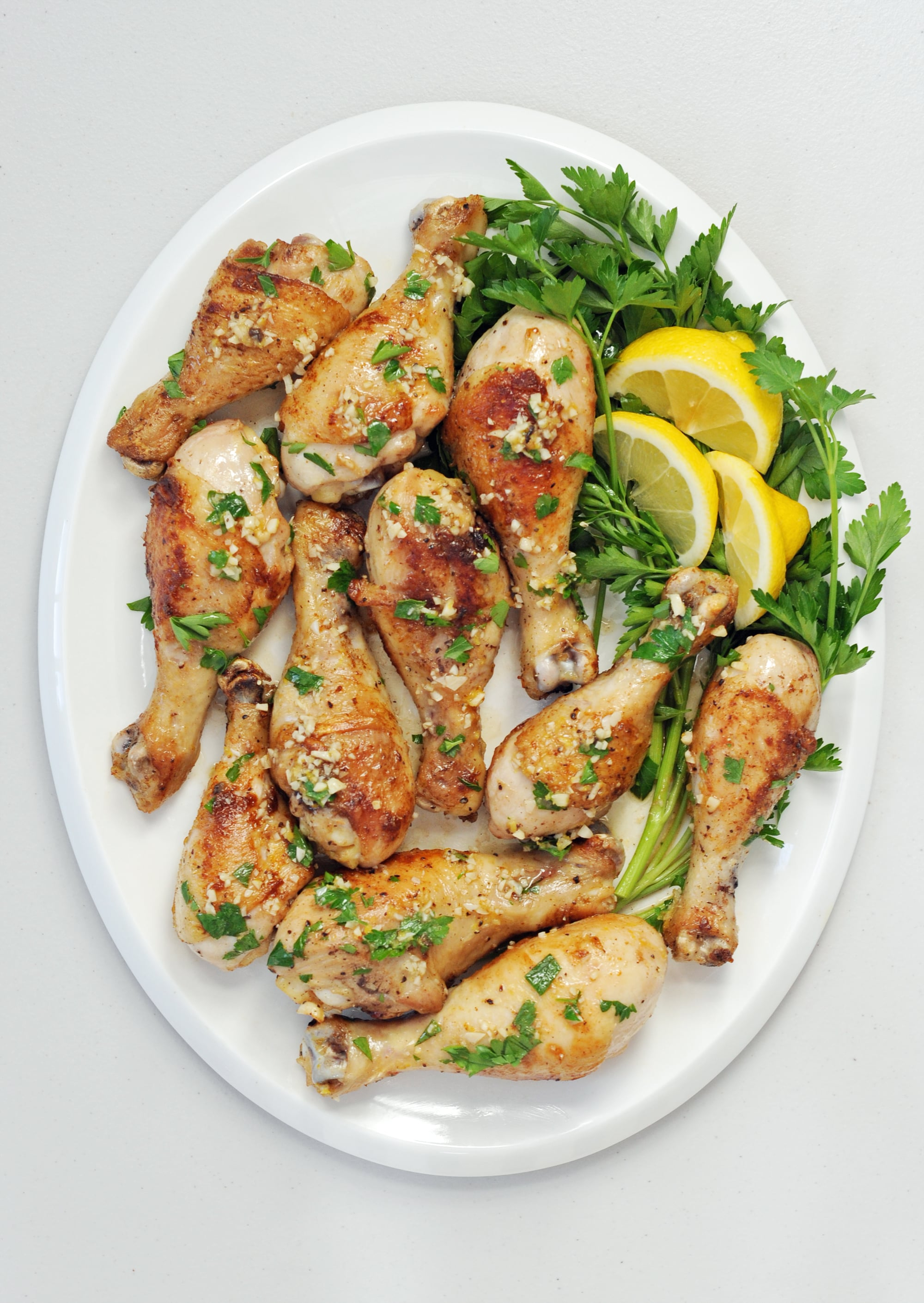 Lemon garlic chicken drumsticks popsugar food forumfinder Image collections