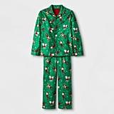 Green Two-Piece Pajama Set