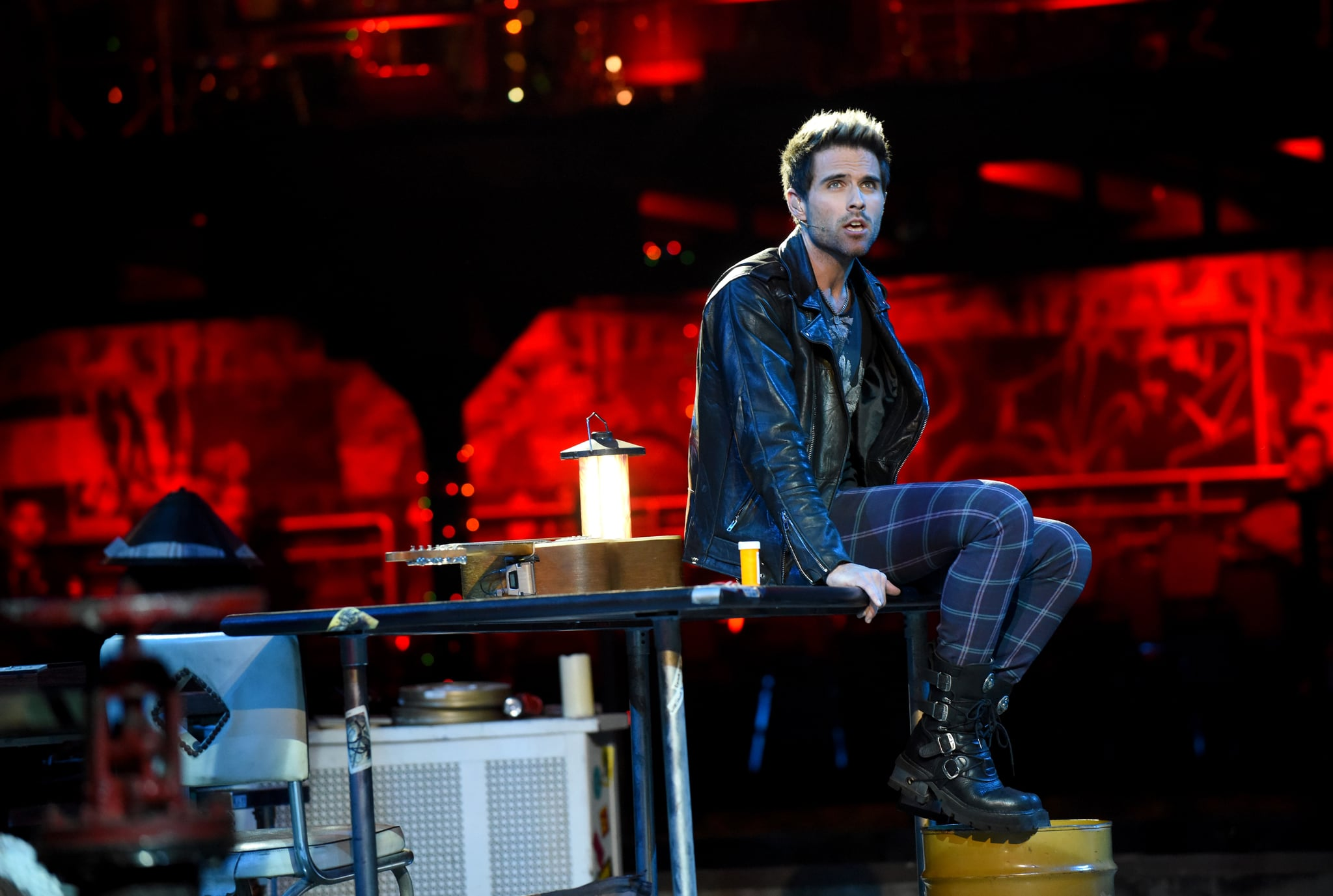 RENT: Brennin Hunt in RENT airing Sunday, Jan. 27 (8:00-11:00 PM ET LIVE/PT TAPE-DELAYED) on FOX. ©2019 Fox Broadcasting Co. CR: Ray Mickshaw/FOX