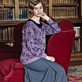 Lily James as Lady Rose in Downton Abbey. Source: PBS