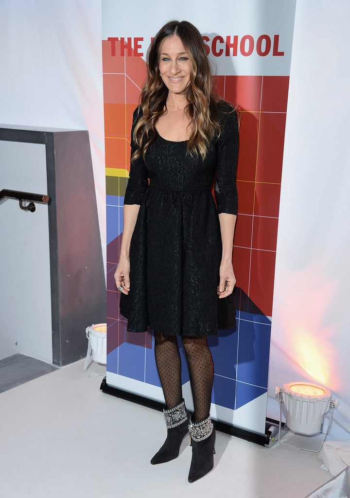 Sarah Jessica Parker at the New School University Center Grand Opening
