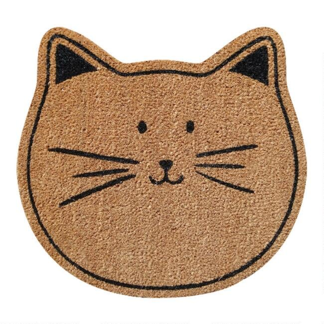 Yay Youftre Here Coir Doormat
