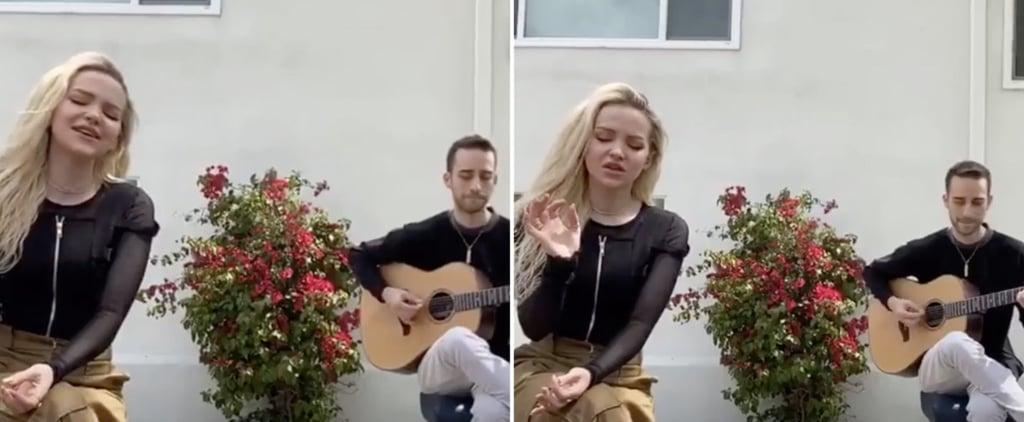 Watch Dove Cameron's #TogetherAtHome Instagram Concert Video