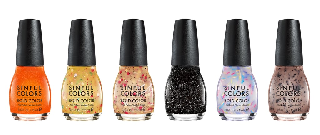 Shop SinfulColors' Cheese Puff, Pizza, and Cake Nail Polish