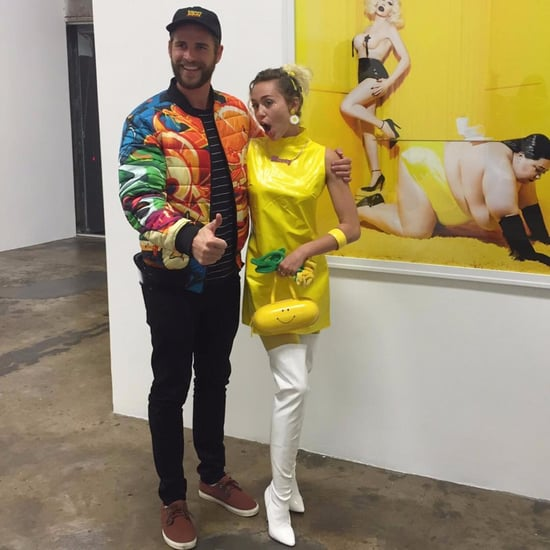 Miley Cyrus and Liam Hemsworth at a Museum November 2016