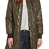 With a removable hood and a glossy finish, this Michael Michael Kors Quilted Jacket ($138) goes way beyond basic.