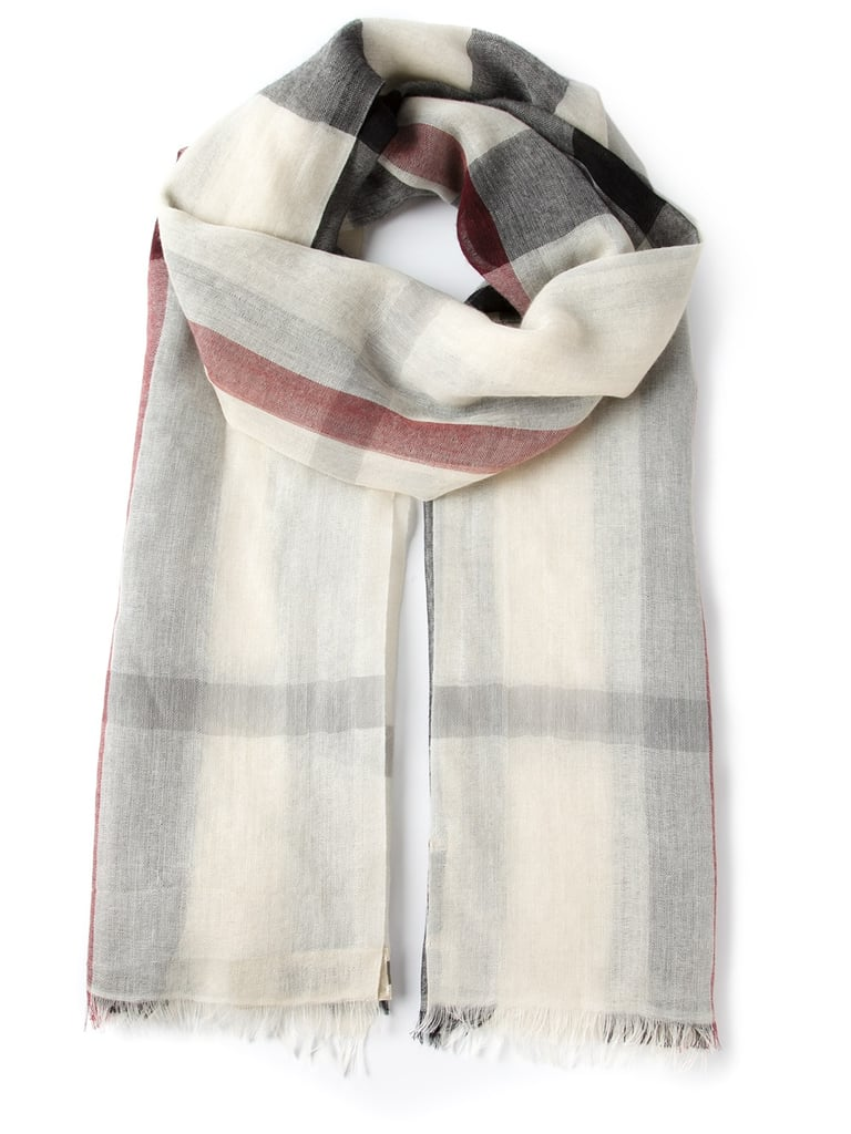 Scarf, approx $739, Burberry at Farfetch