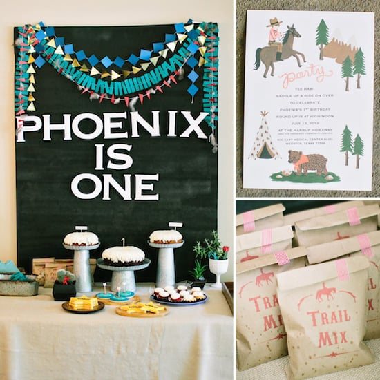 A Modern Cowboys and Indians Birthday Party